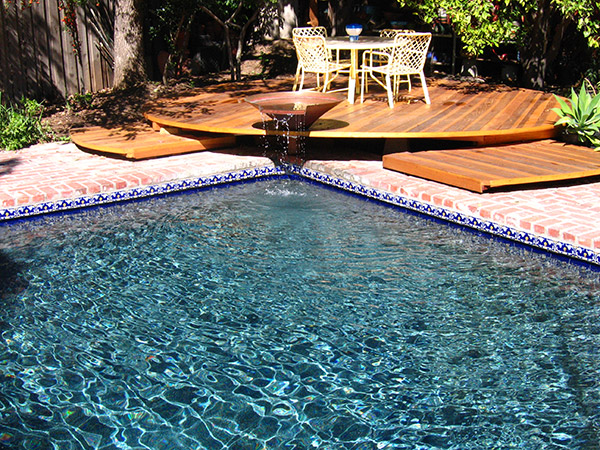 Blue Pebble Pool Lining